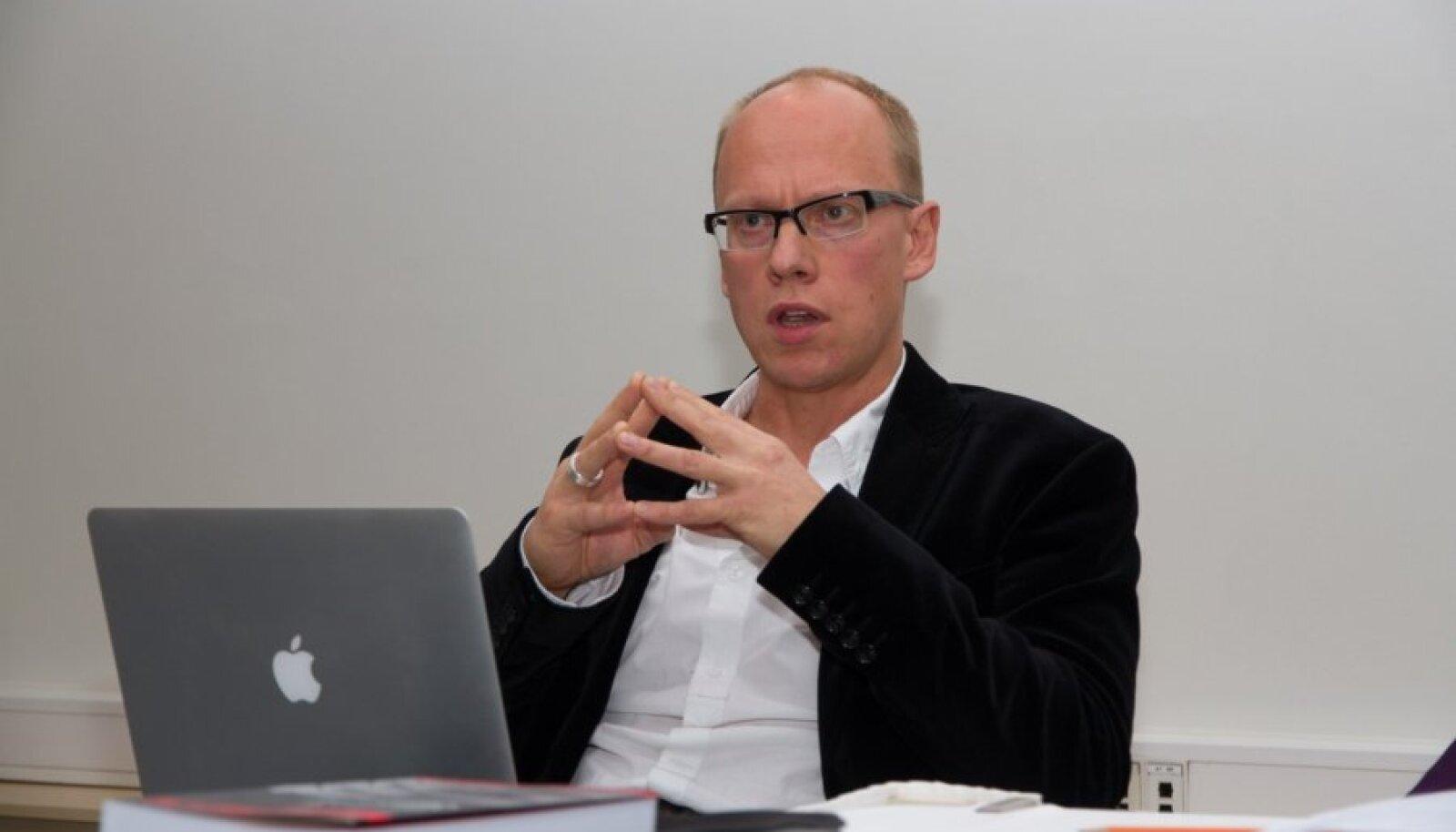 Kolumnist Ahto Lobjakas