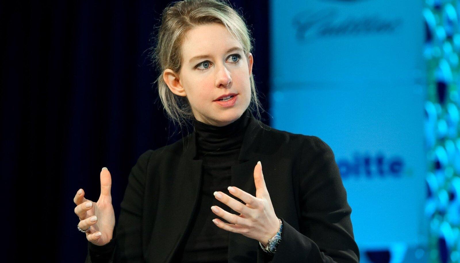 VEENEV: Elizabeth Holmes suutis paljunäinud ärimehed ja poliitikud oma sarmi abil lolliks teha.