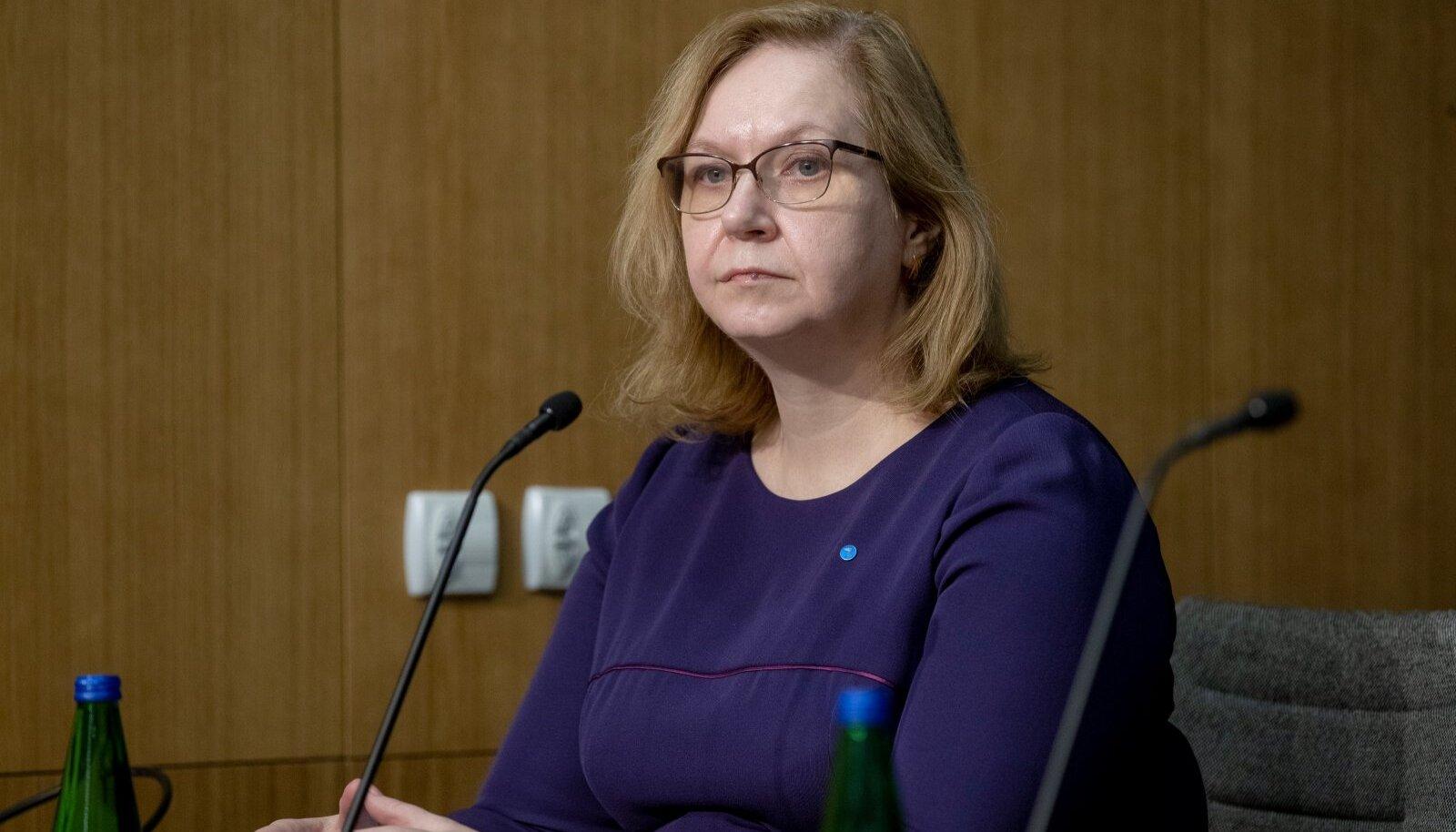 Valitsuse pressikonverents 28.01.21, Maris Lauri
