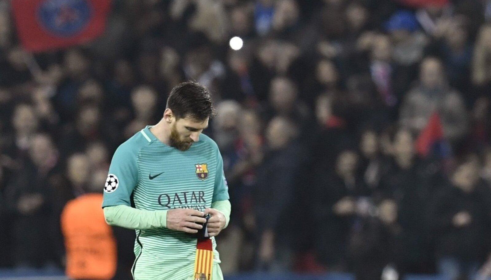 Lionel Messi on igas mõttes löödud.