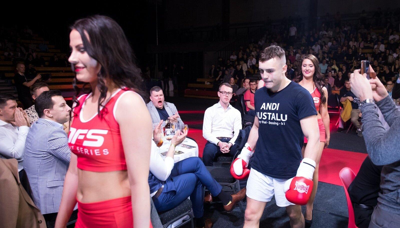 Duel 1 Fight Series Tartus A. Le Coqi spordihoones.