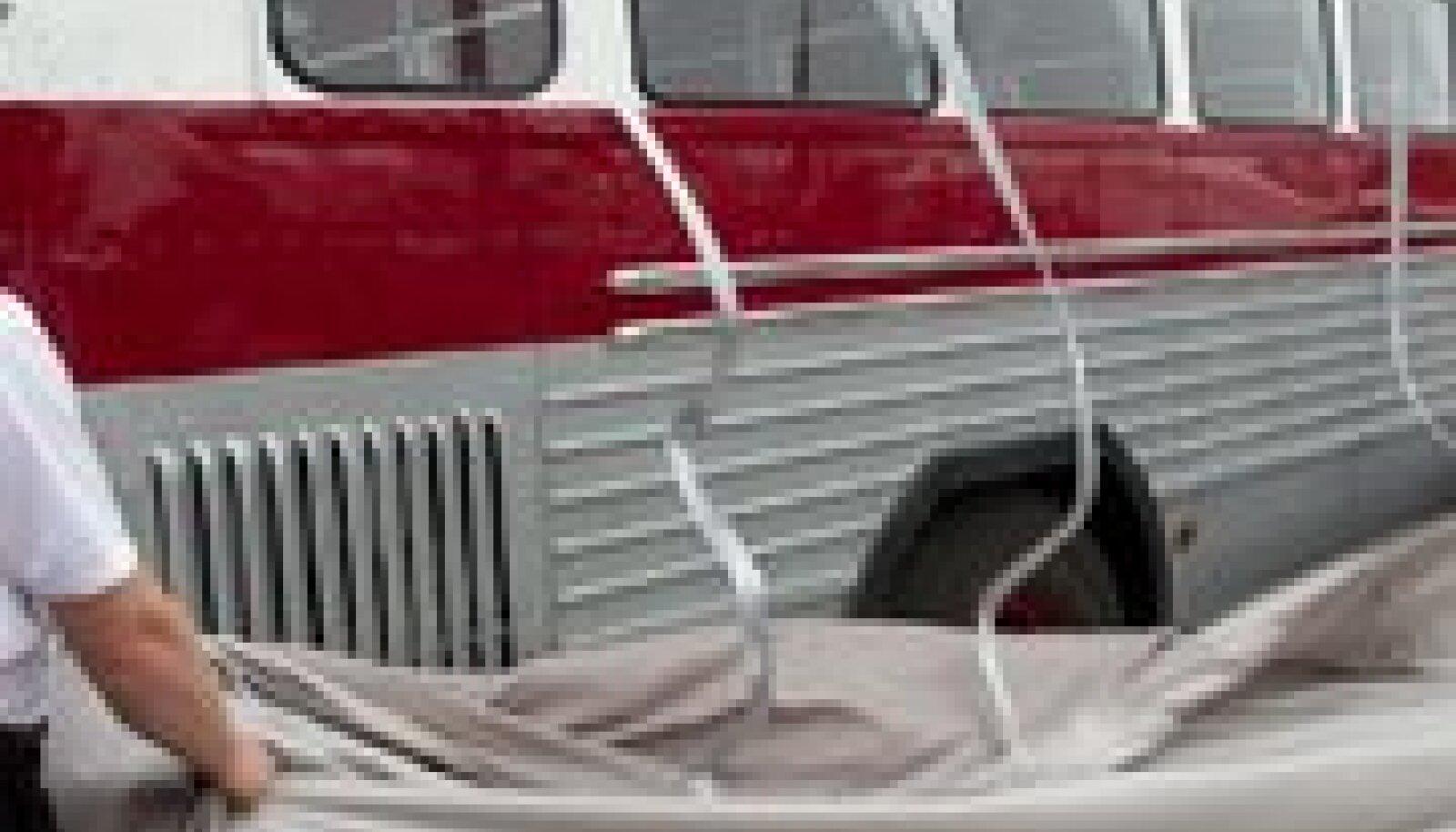 Väskelt renoveeritud buss on maailmas ainuke omalaadne