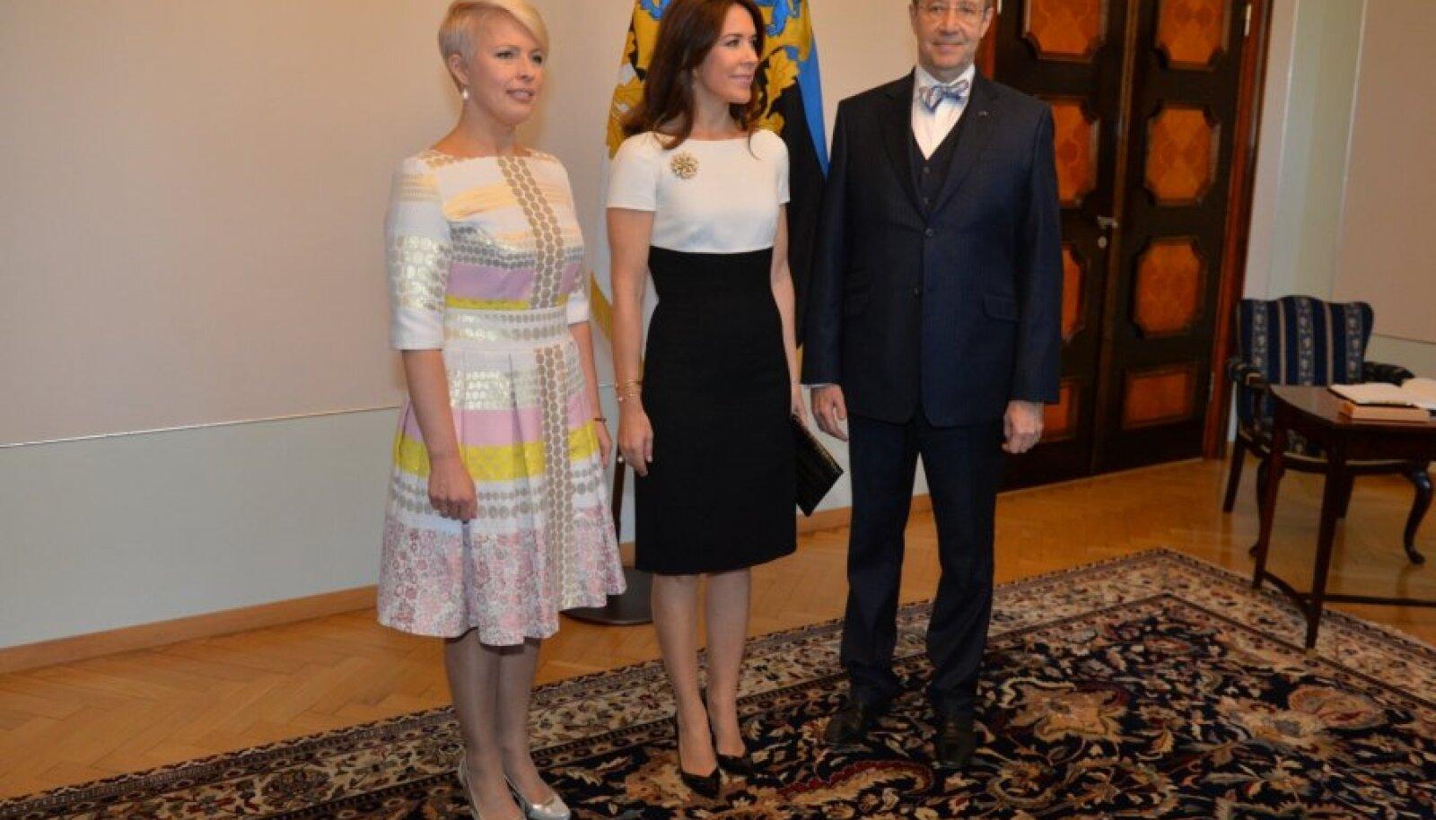 Evelin Ilves, Taani kroonprintsess Mary ja Toomas Hendrik Ilves