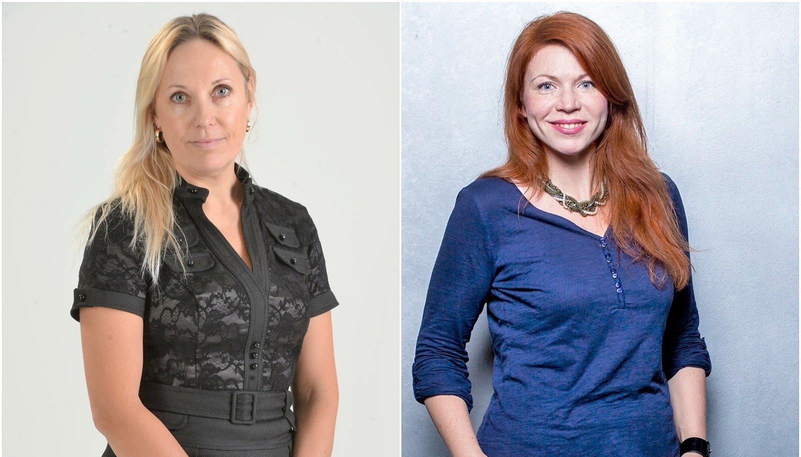 VÕITJAD: Kirsti Vainküla (Eesti Ekspress) ja Merilin Pärli (ERR).