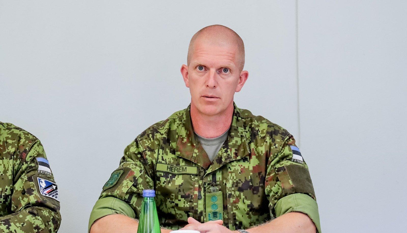 Kaitseväe peastaabi ülem ja tulevane kaitseväe juhataja kindralmajor Martin Herem