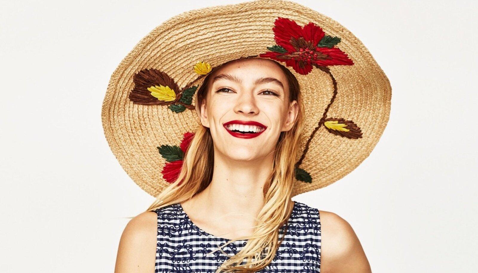 Kui sul oleks võimalik lisada oma suvegarderoobi üksainus ese, siis mille valiksid? Soovitame just efektset kübarat – pole suvekleiti, millele see ei suudaks uut elu sisse puhuda. Zara, 25.95