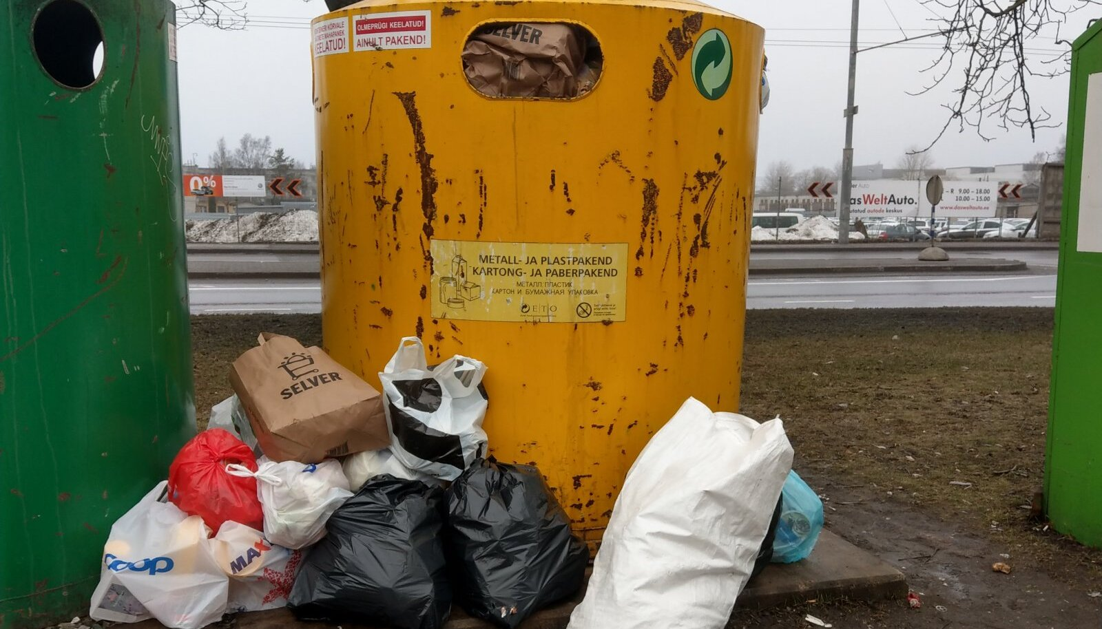 Keskkonnaminister Rene Kokk: pakendikaste peab korralikult tühjendama, see on seadus!
