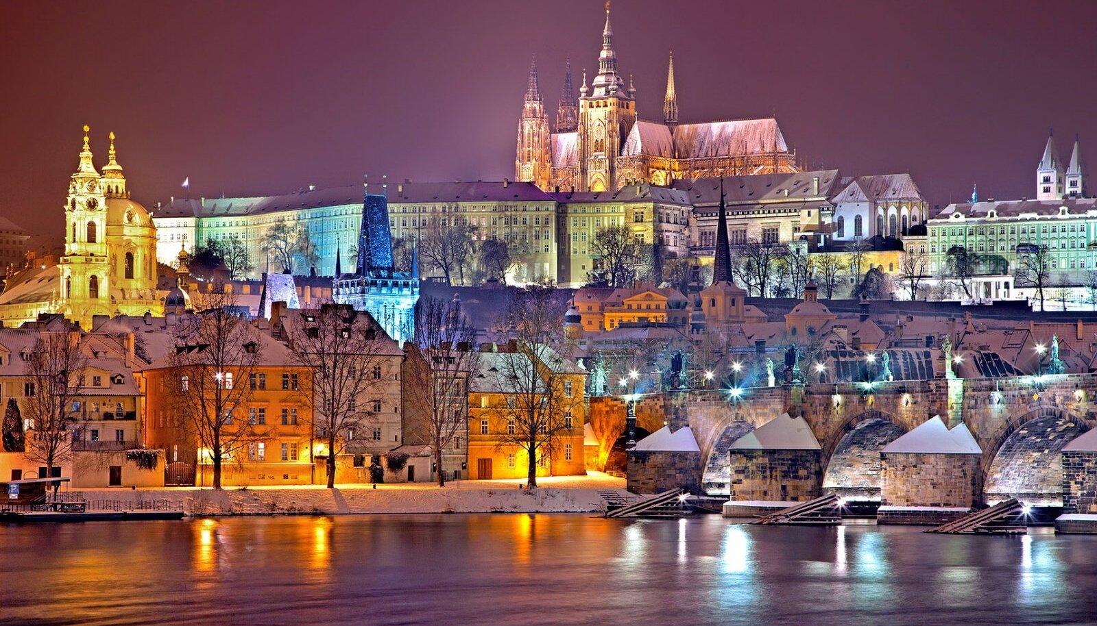 Praha talvel