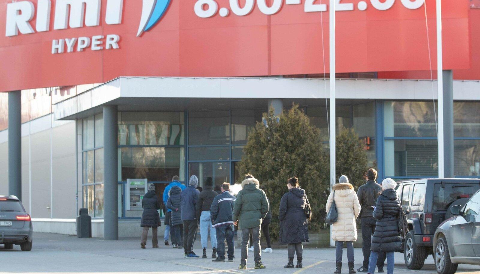 Rimi kauplus Sõpruse puiesteel. Foto on illustratiivne.