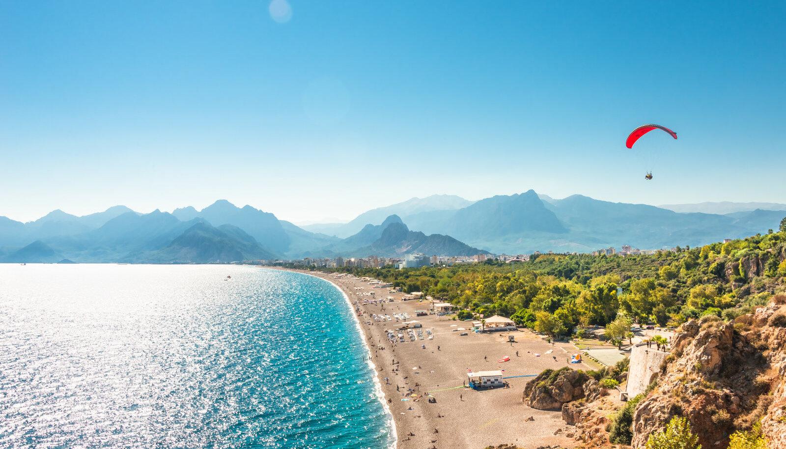 Esimeseks sihtkohaks on Antalya Türgis