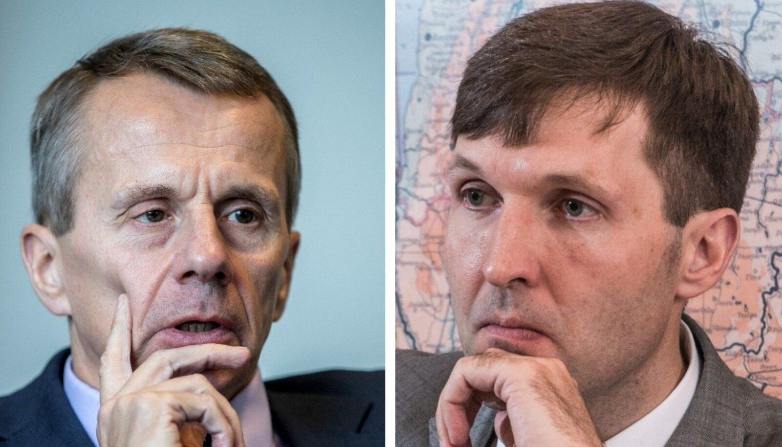 Jürgen Ligi ja Martin Helme