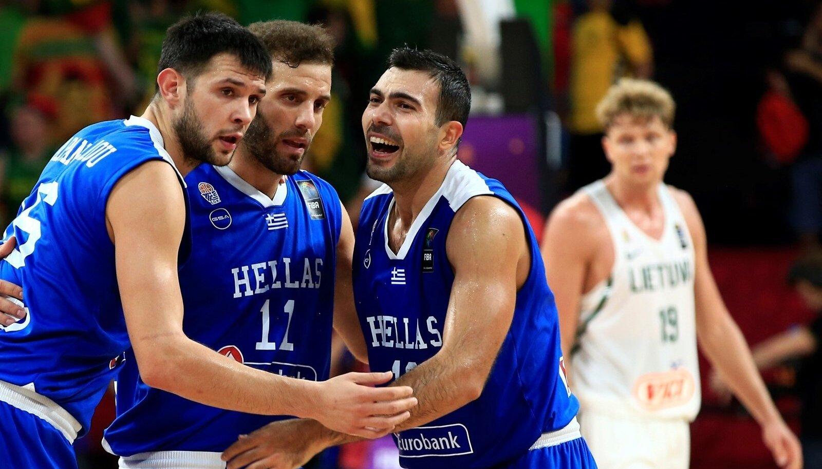 Korvpall Leedu vs Kreeka