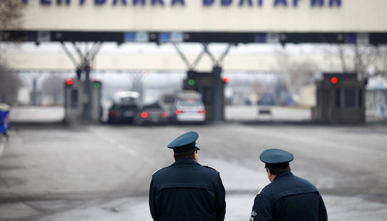 Bulgaaria piirivalvurid