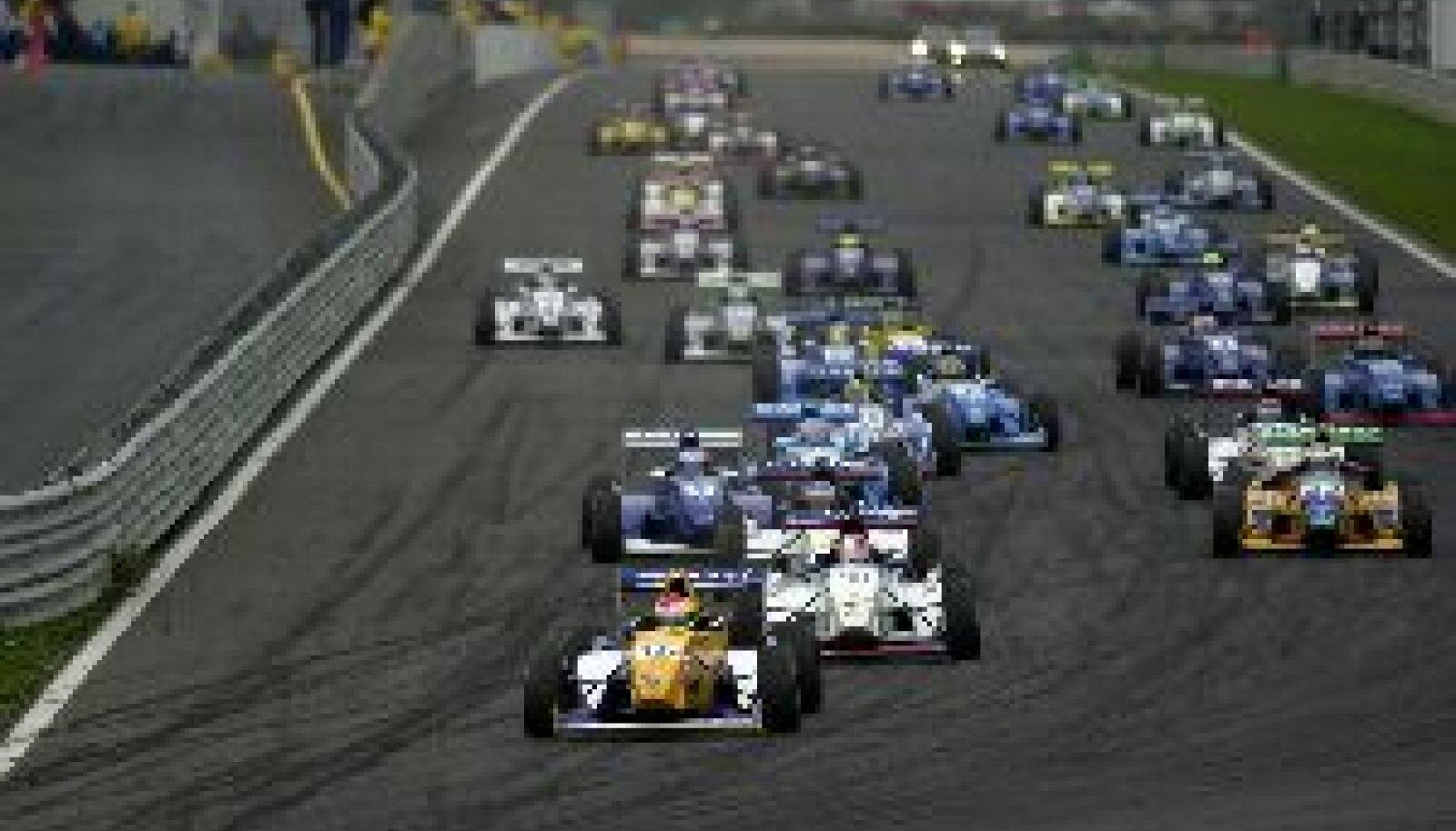 VORMEL RENAULT 2000: Sai Kimi Räikkönenile hüppelauaks tippklassi. Renault