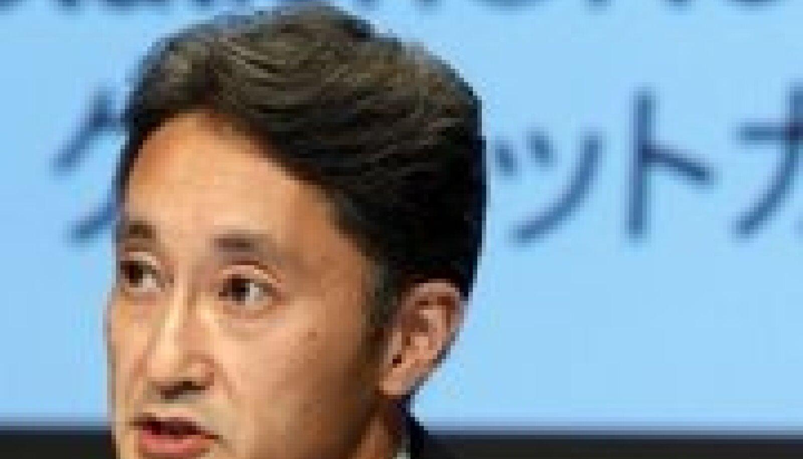 Sony pealikke presikonverentsil. Foto: Kim Kyung-Hoon, Reuters