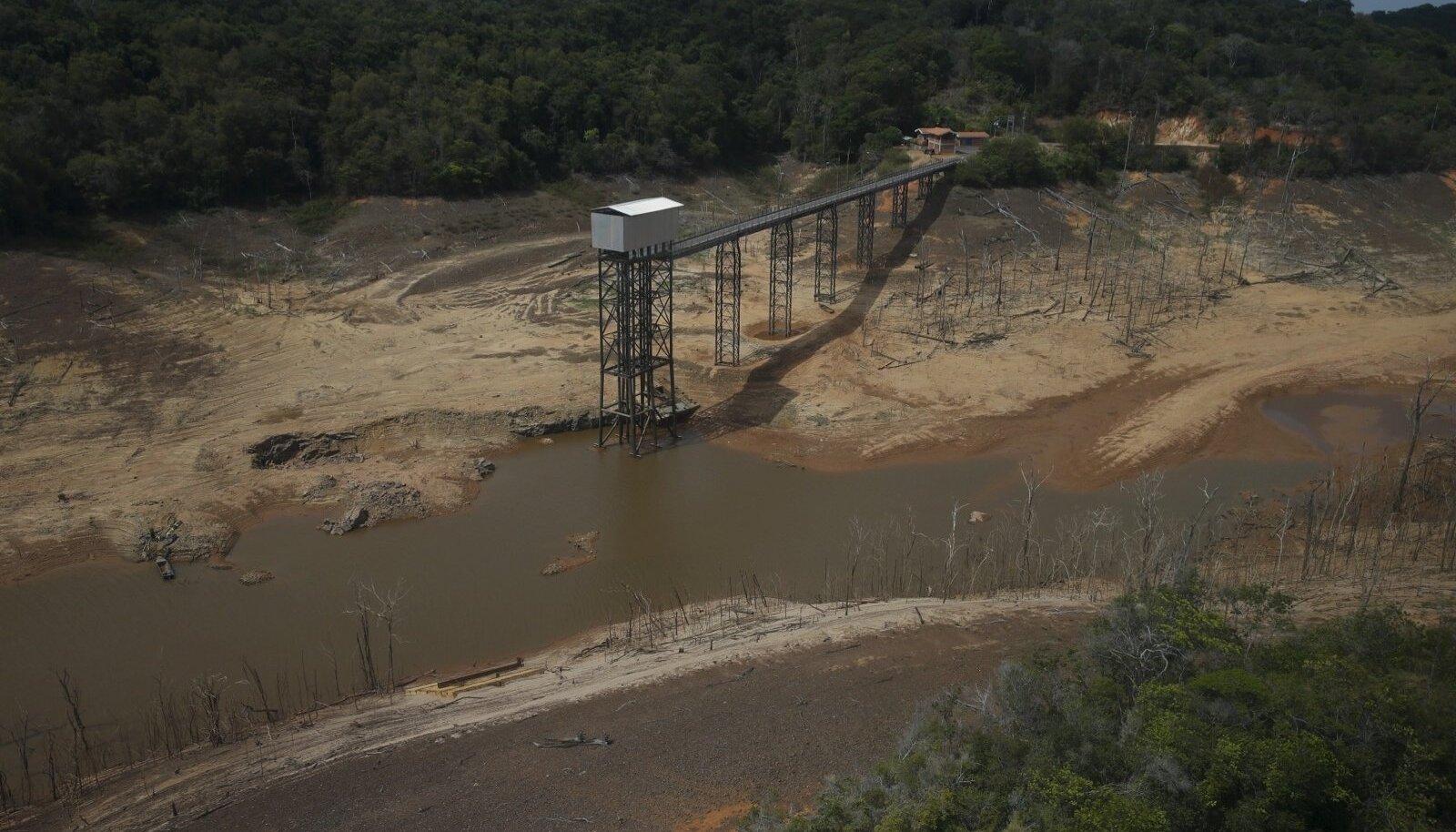 Tühjaks jääv veehoidla Venezuelas