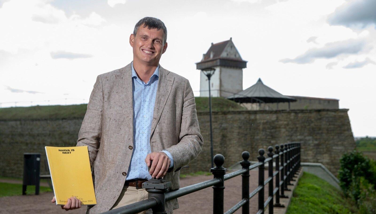 Narva linnapea ja peaarhitekt, Aleksei Jevgrafov,