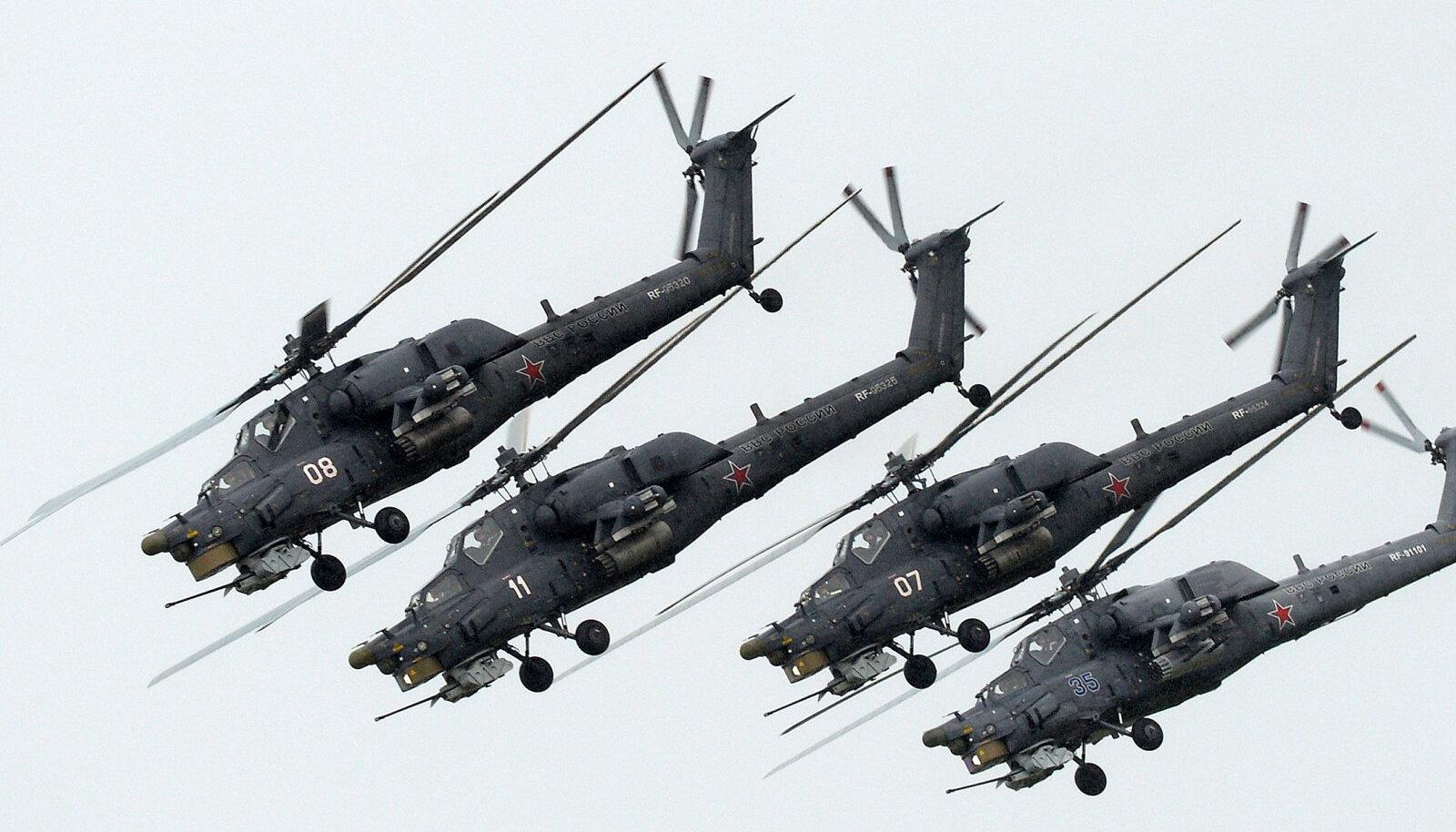 Vene ründekopterid Mi-28