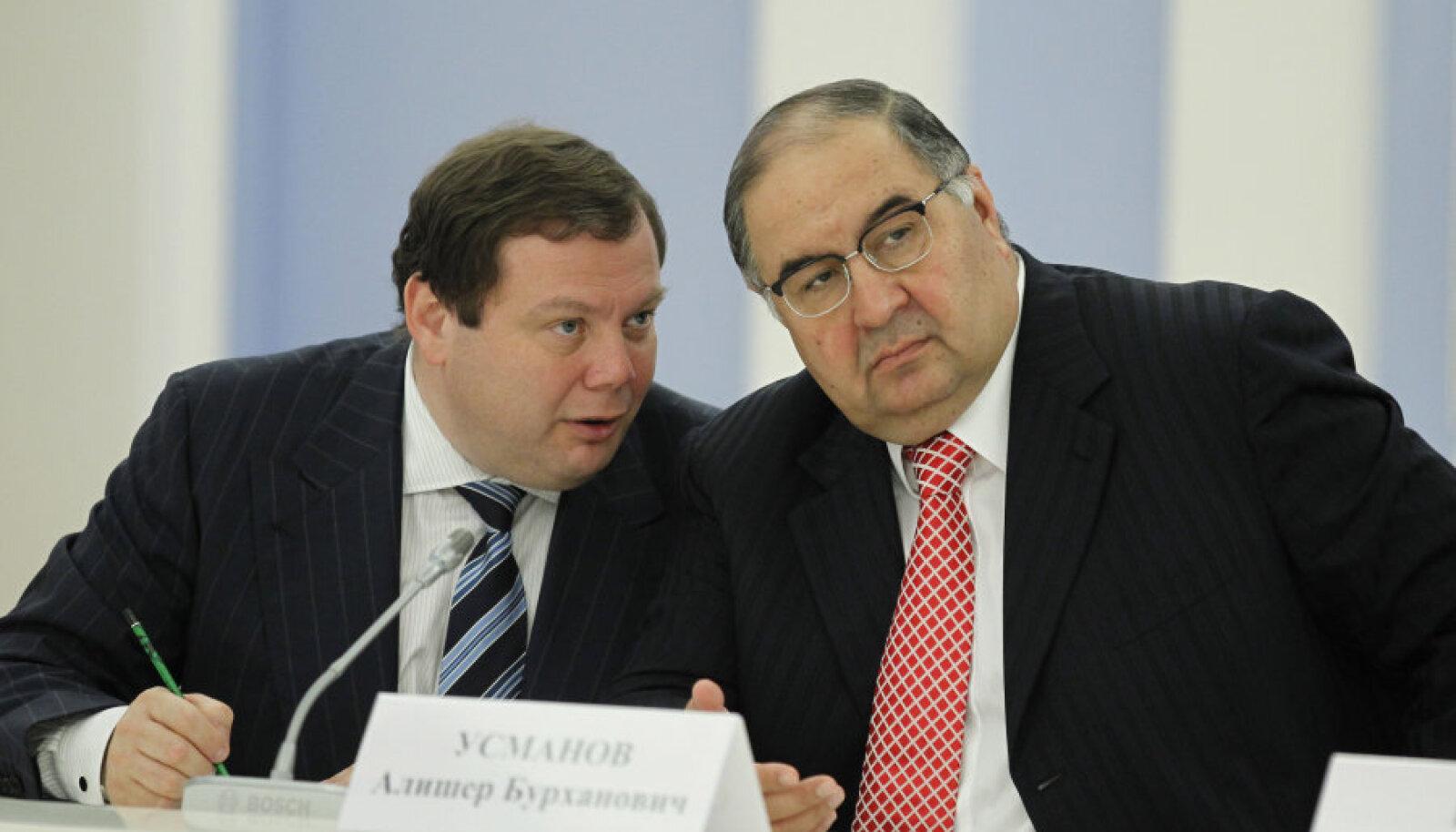 Venemaa kaks kõige rikkamat - Mihhail Fridman ja Ališer Usmanov