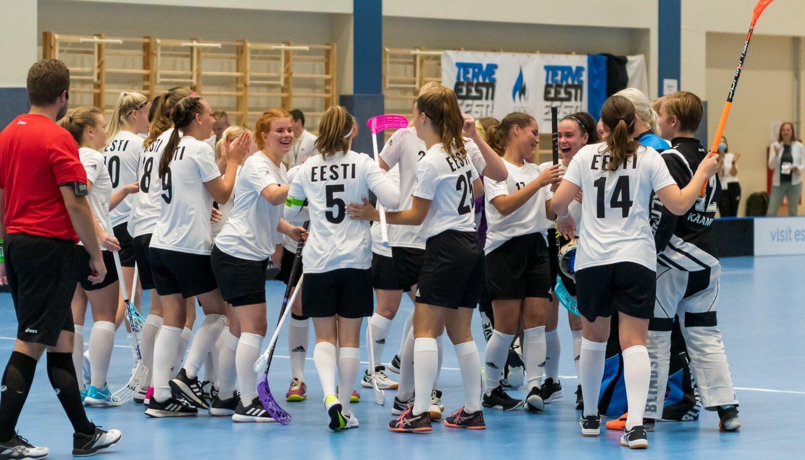 Eesti naiskond alustas võidukalt.