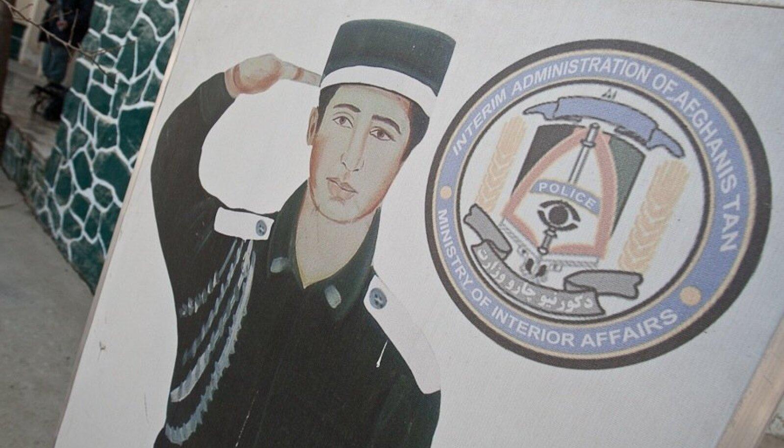 Afgaani politseinik