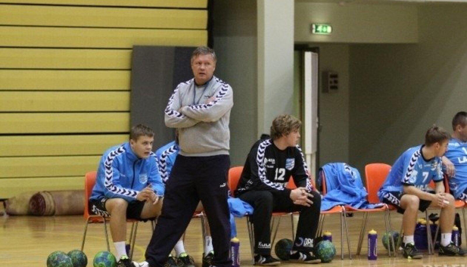 HC Kehra peatreener Jüri Lepp.