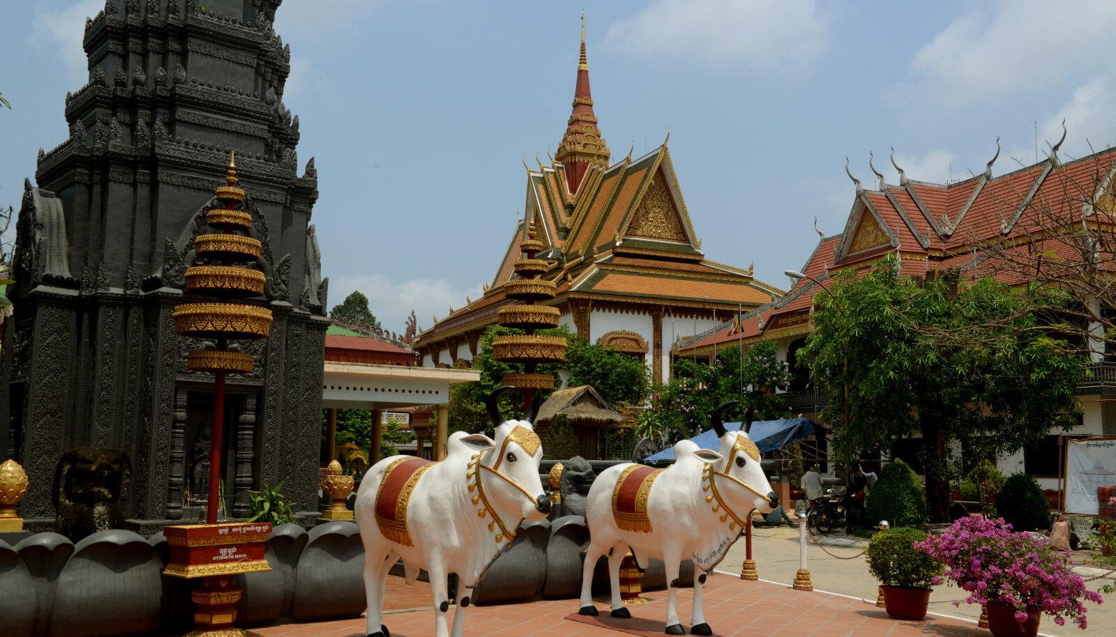 Wat Bo tempel Siem Riepis
