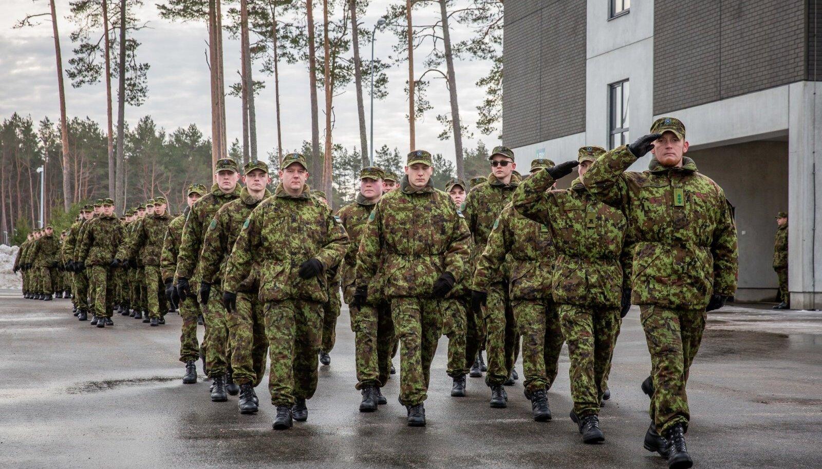 Sõduri baaskursuse lõpurivistus
