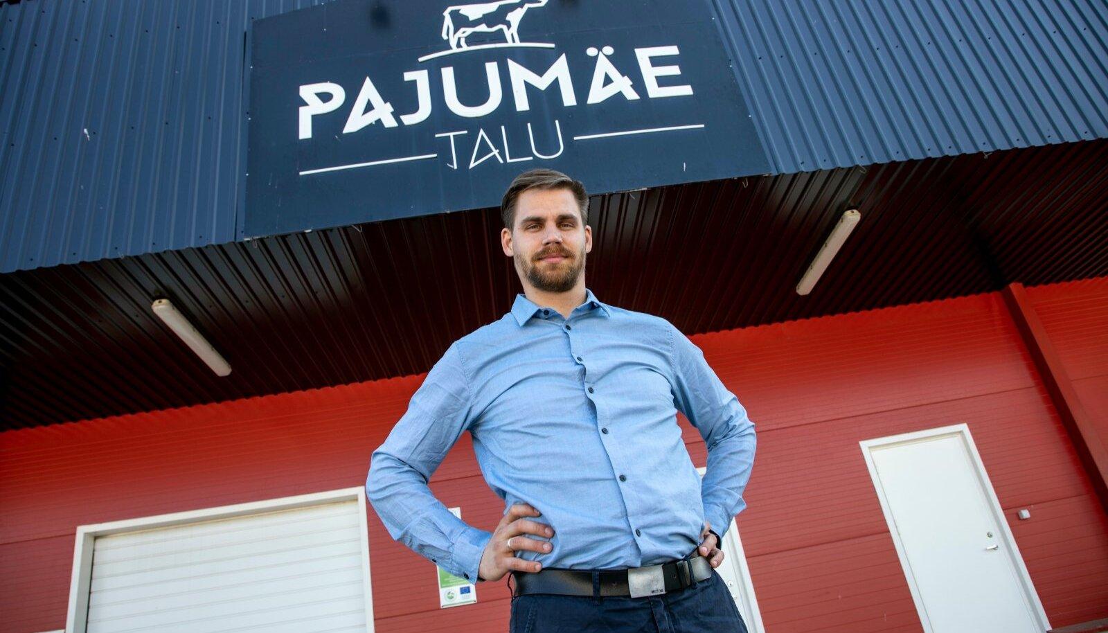 Viljar Veidenberg rajas Pajumäele ka uue meierei, mis lubab talu toodangut veel kolmandiku võrra kasvatada.