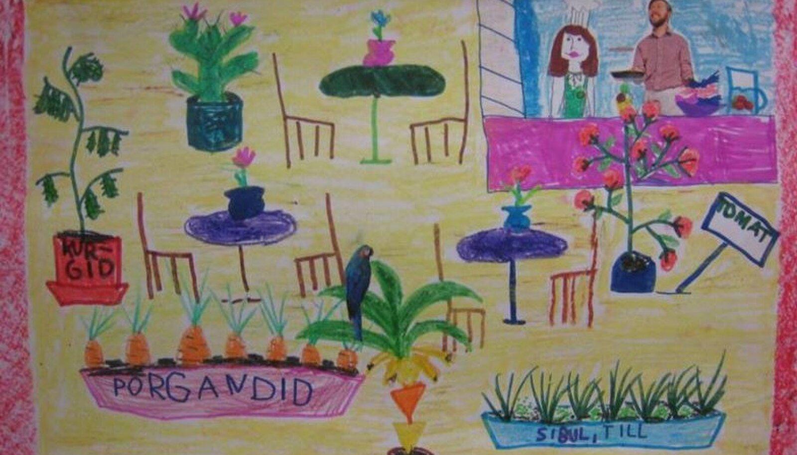 I koht algkooli vanuserühmas: Margarita Kaetri, Tallinna Arte Gümnaasium, 1.a klass