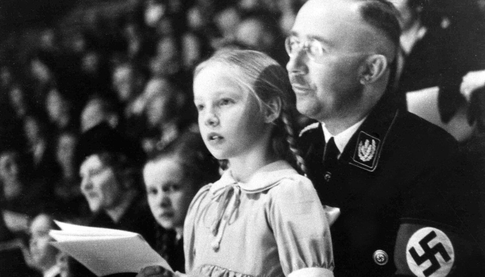 Heinrich Himmler tütre Gudruniga