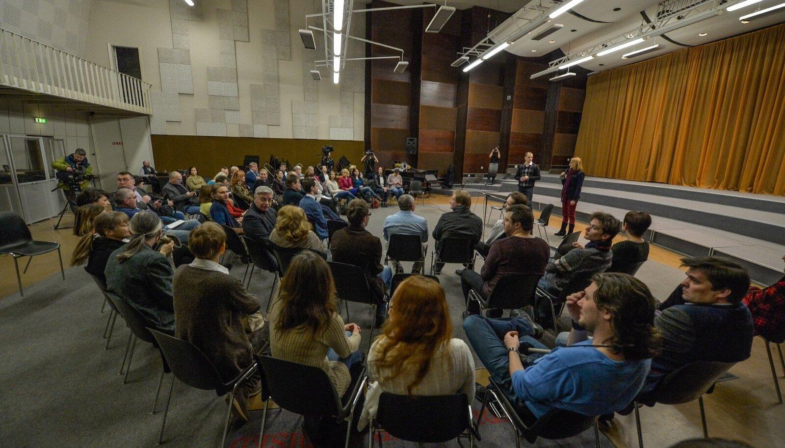 Arutelu venekeelse telekanali loomiseks