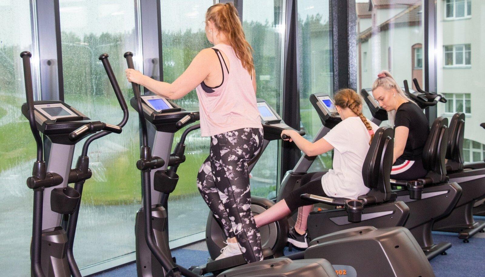 24-7 fitness spordisaal