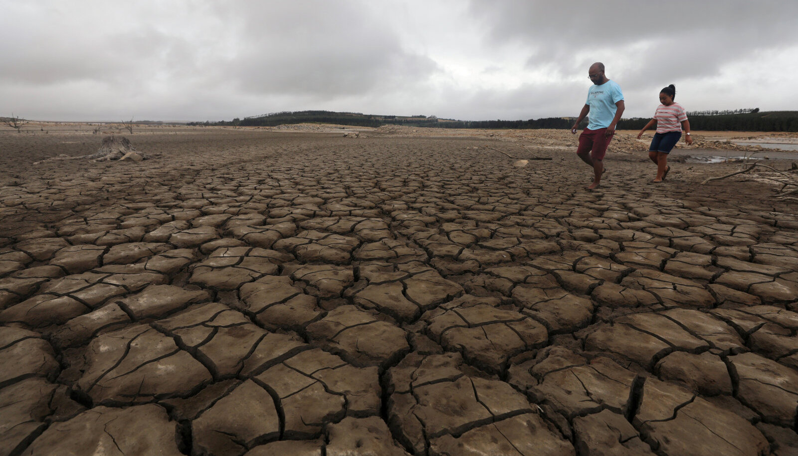 Kokkukuivanud veehoidla Kaplinnas