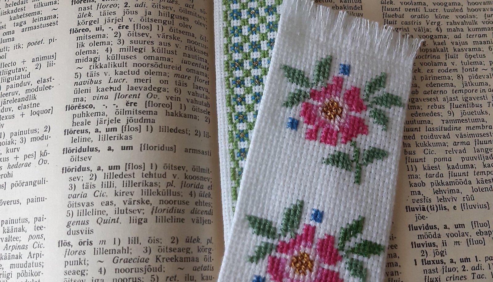 Kaunis järjehoidja teeb lugemise veelgi nauditavamaks.