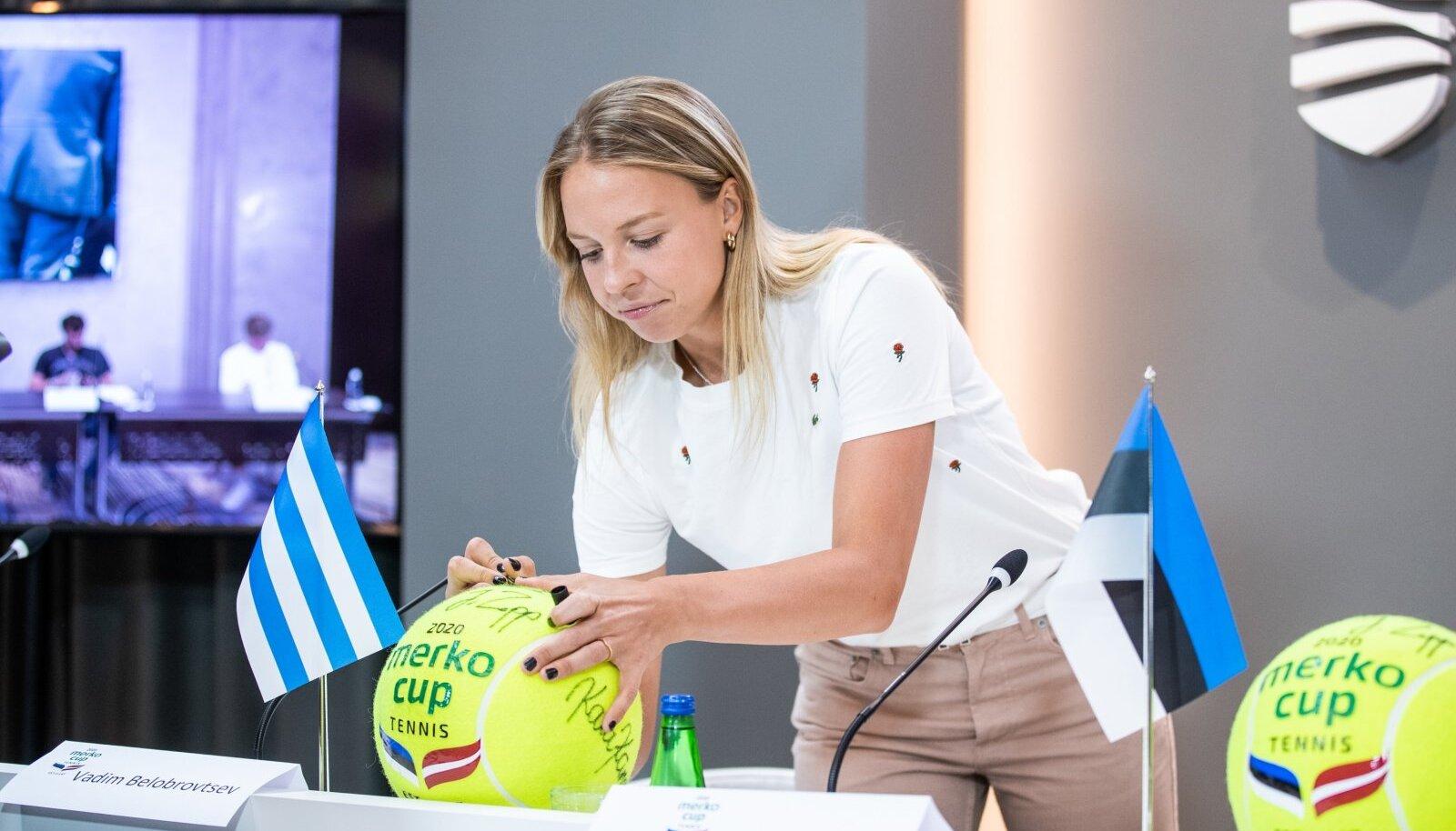 Möödunud suvel peeti Tallinnas Eesti-Läti maavõistlus Merko Cupi nime all. Tuntud ehitusfirma enam Eesti tennist ei toeta.