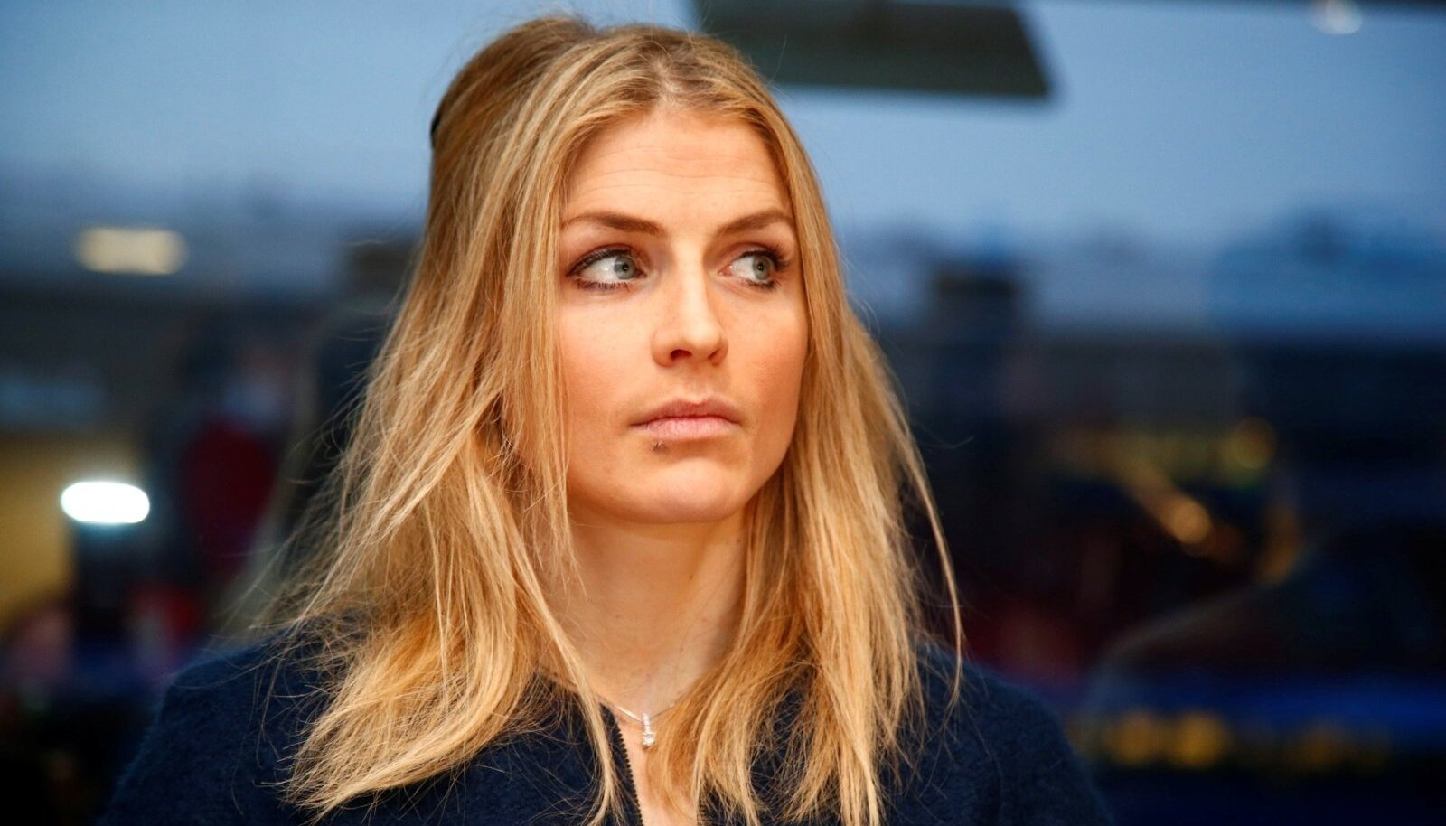 Norwegian cross country skier Therese Johaug before the start of a hearing in her doping case in Oslo