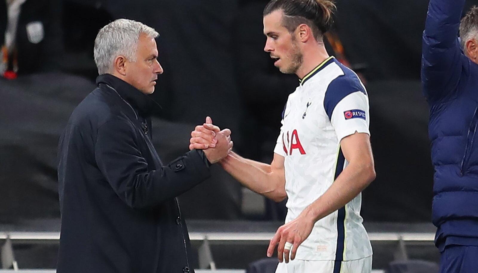 Jose Mourinho ja Gareth Bale