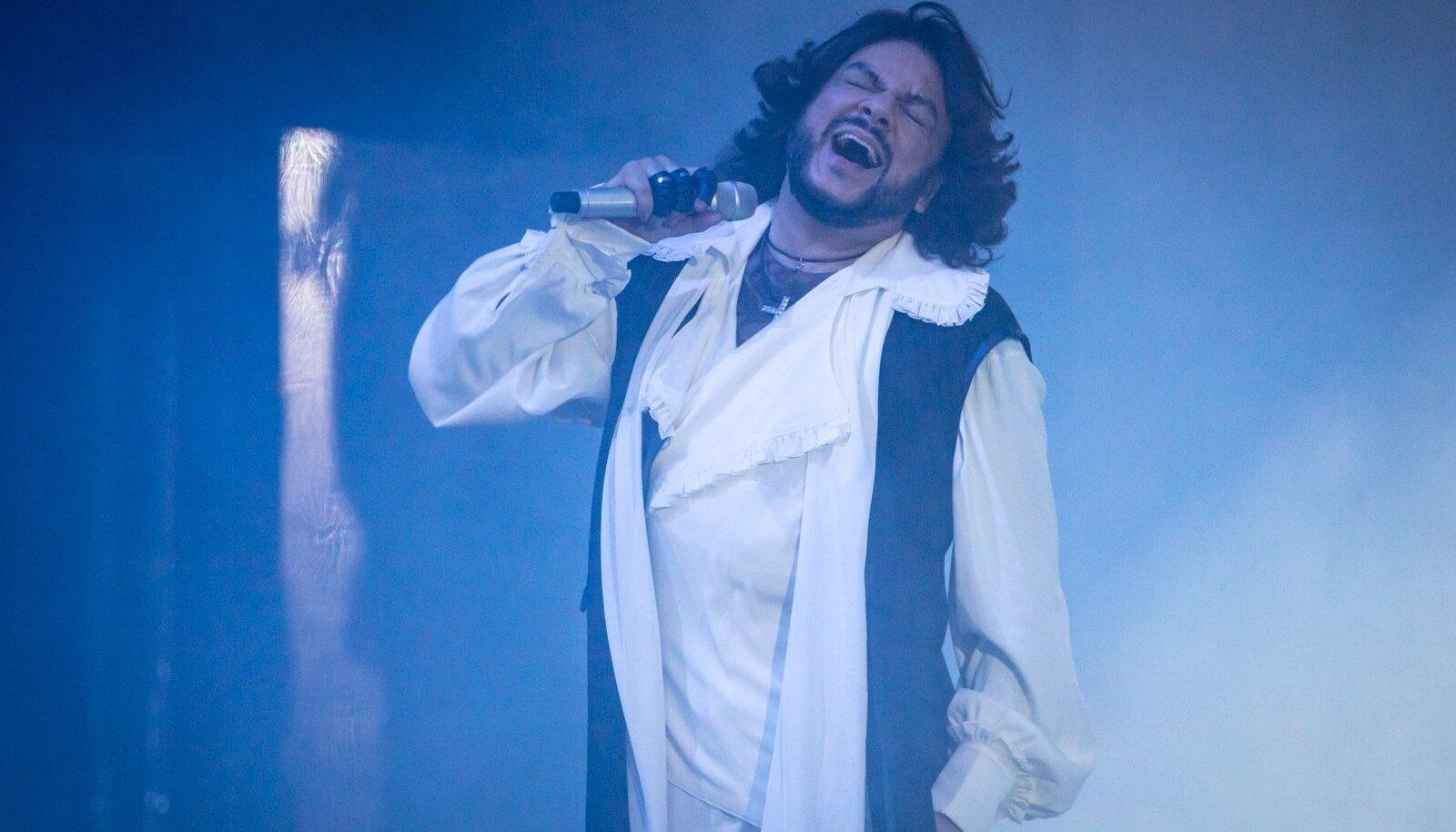 """Filipp Kirkorov kontsertshow """"Mina"""" Tondiraba jäähallis 25.03.2018"""