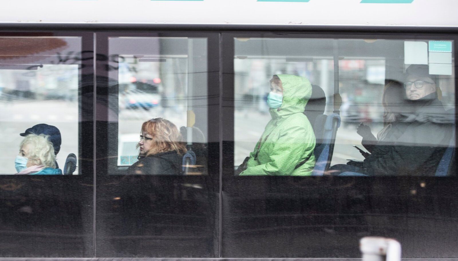 Maskid Tallinna linnapildis ja ühistranspordis 5.11.2020