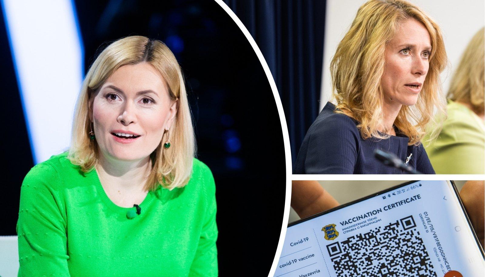 Riina Sikkut ja Kaja Kallas