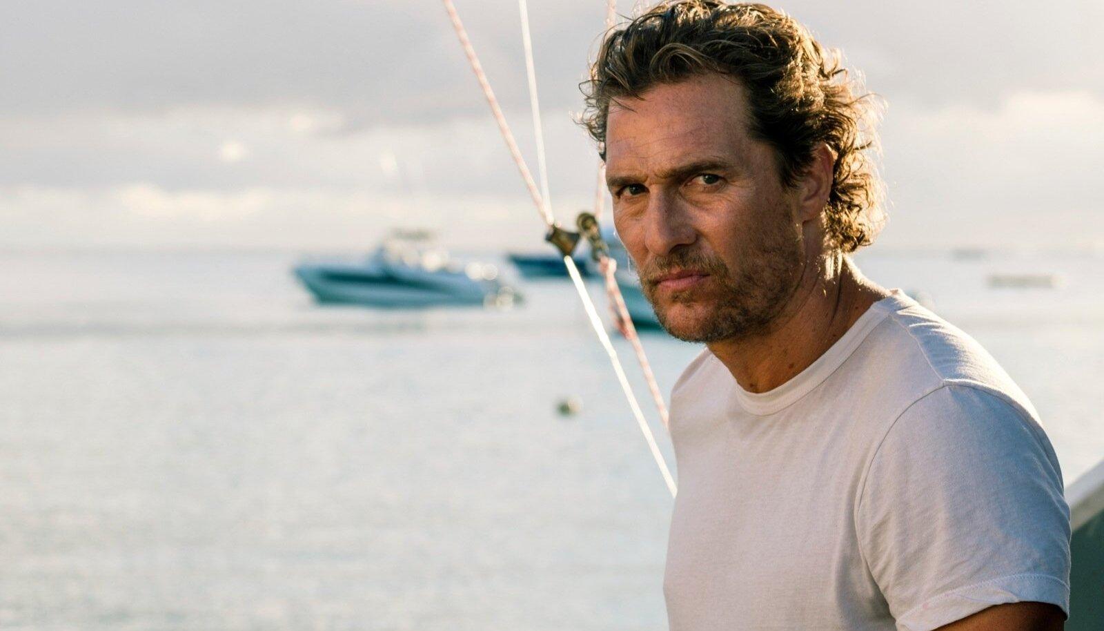 """Matthew McConaughey filmis """"Meelerahu"""" (""""Serenity"""")."""