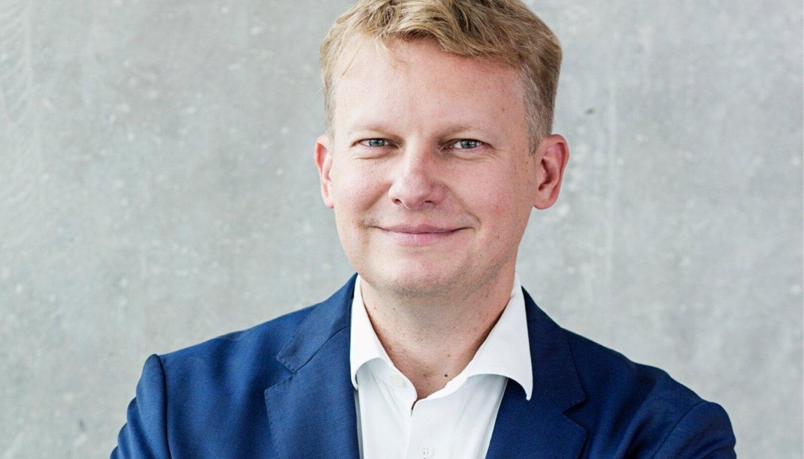 LHV Panga ettevõtete panganduse juht, juhatuse liige Indrek Nuume.