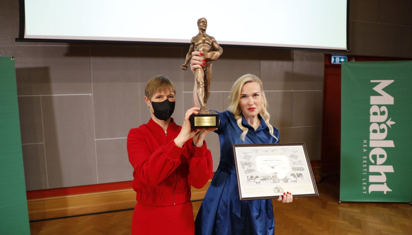 Eesti Vabariigi president ja Aasta Põllumees 2020