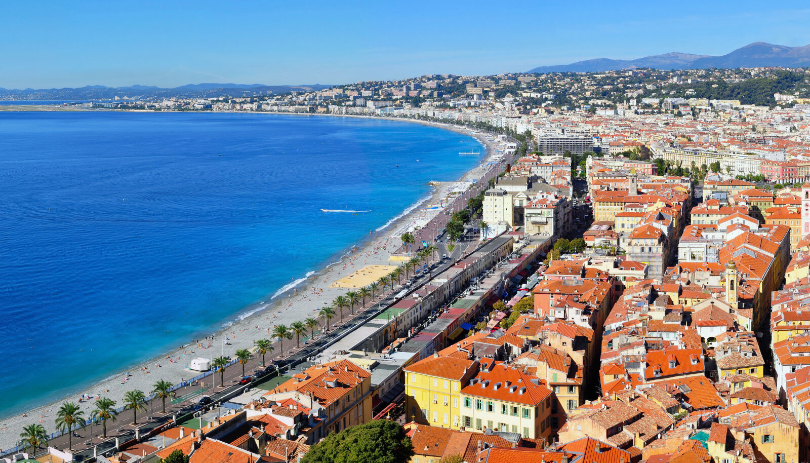 Nizza, Côte d'Azur.