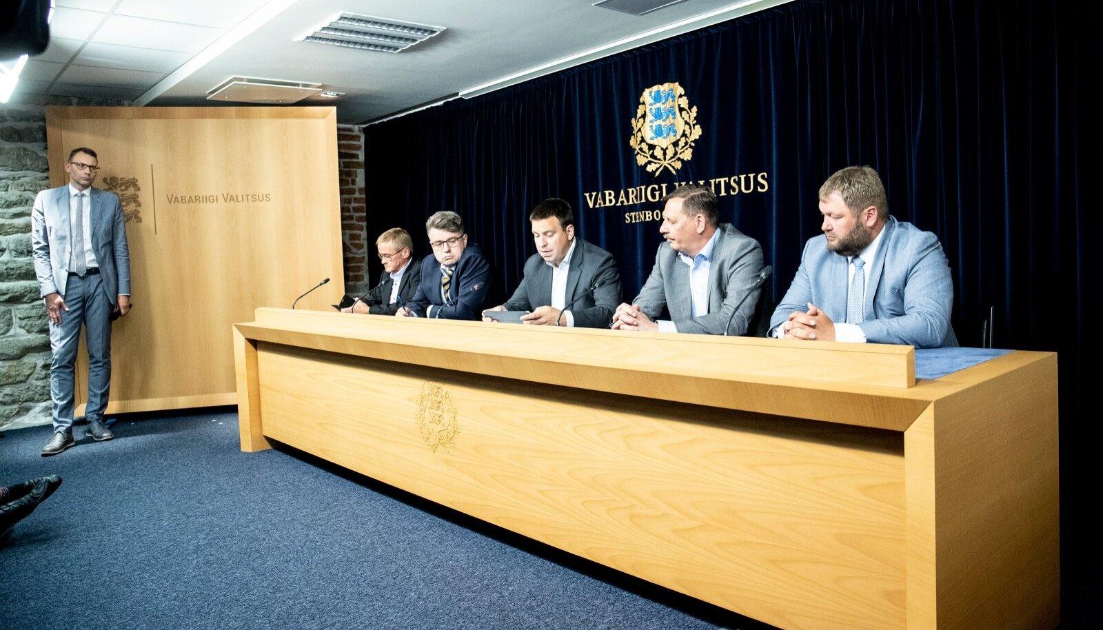 Valitsuse pressikonverents