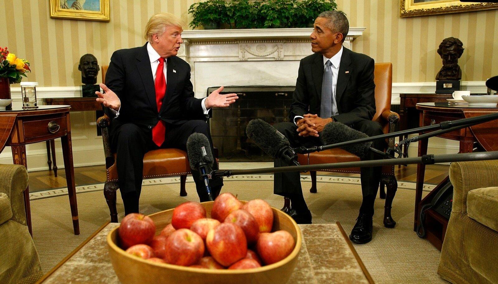 Obama ja Trump
