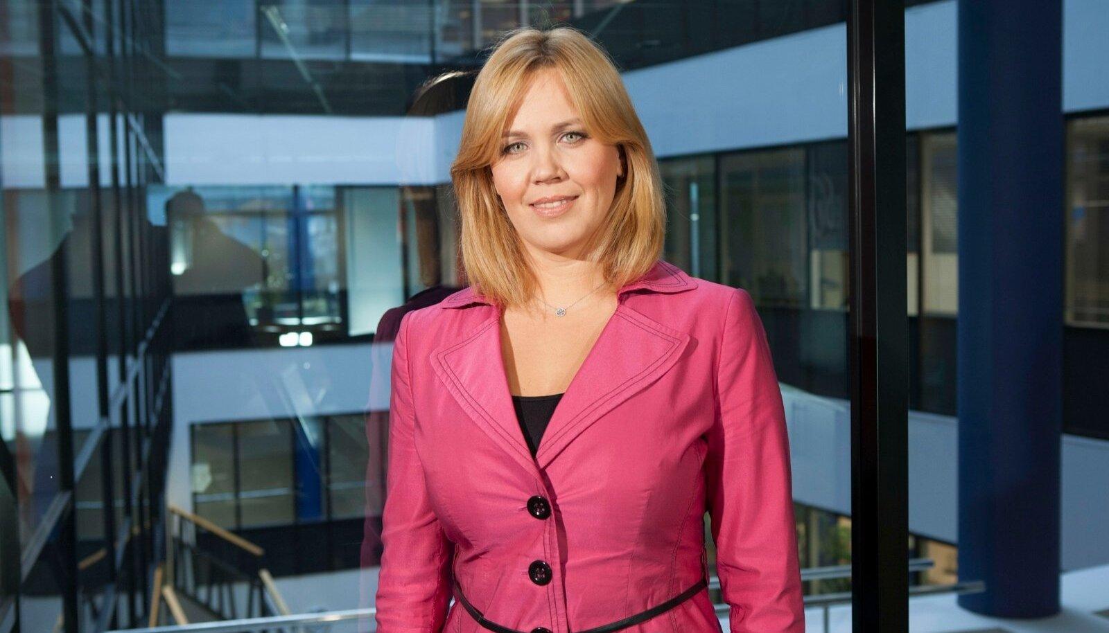 KredEx Krediidikindlustuse juhatuse liige Mariko Rukholm.