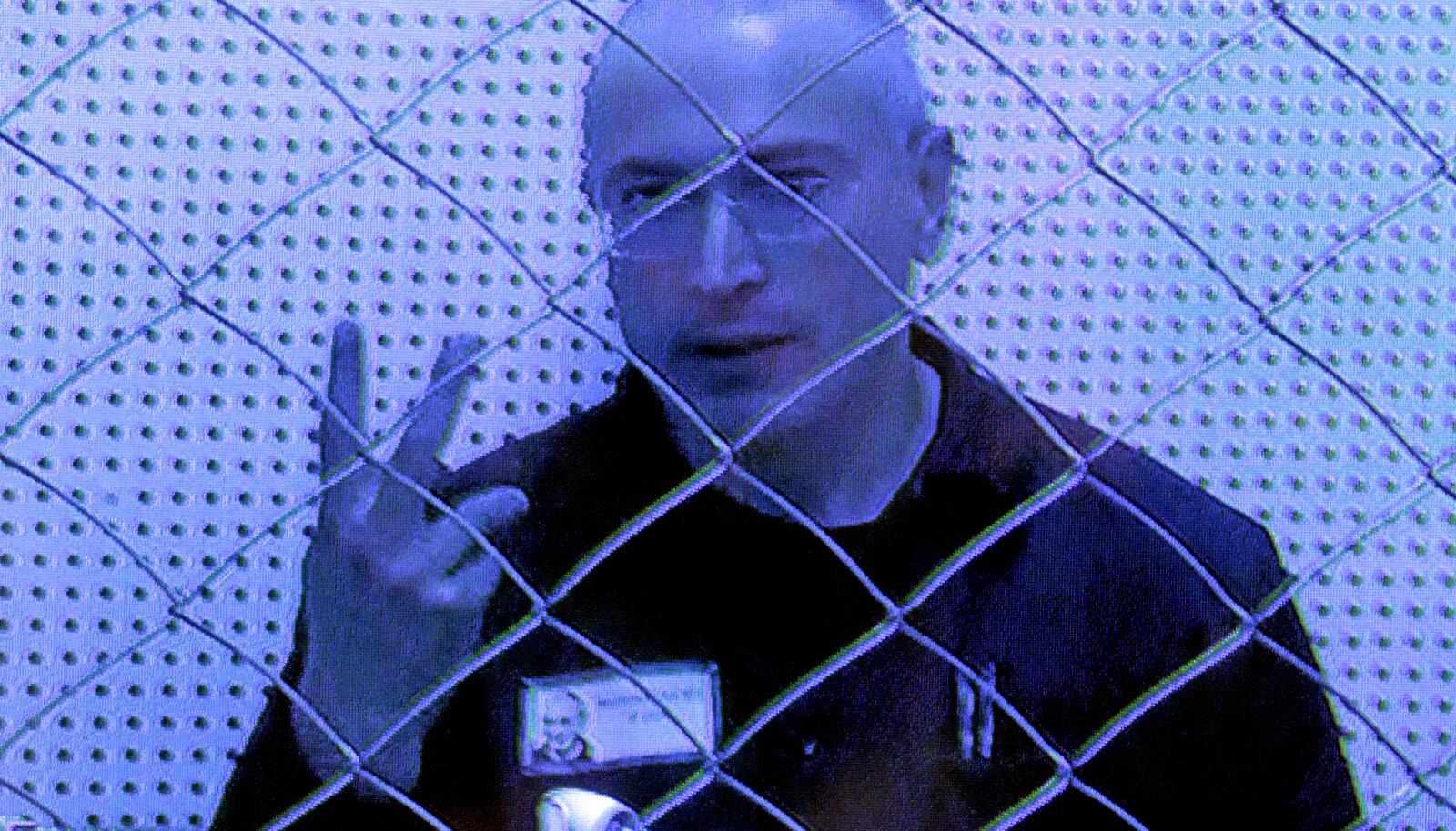 Mihhail Hodorkovski 2013. aasta augustis istungil, kus arutati tema teise karistuse edasikaebust.