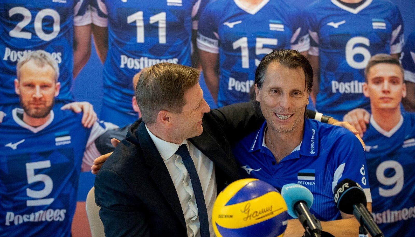 Hanno Pevkur ja Gheorghe Cretu.